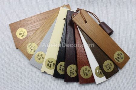 Sharppoint Wooden Blind 27 mm